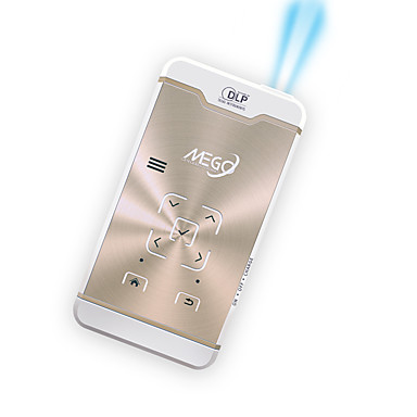 M3 DLP מקרן מיני LED מקרן 1600 lm 5.1 Android תמיכה 1080P (1920x1080) 29-300 אִינְטשׁ מסך / FWVGA (854x480)