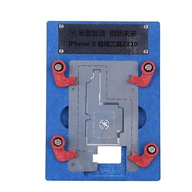 הלוגיקה לוח כלים לתיקון bga עבור iPhone x נטיעת פח מקבע לוח האם IC שבב כדור הלחמה נטו