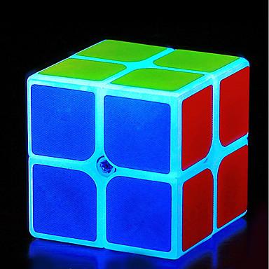 קוביה הונגרית z-cube קוביית זוהר זוהרת 2*2*2 קיוב מהיר חלקות קוביות קסמים קוביית פאזל Office צעצועים במשרד הפגת מתחים וחרדה זוהר בחושך