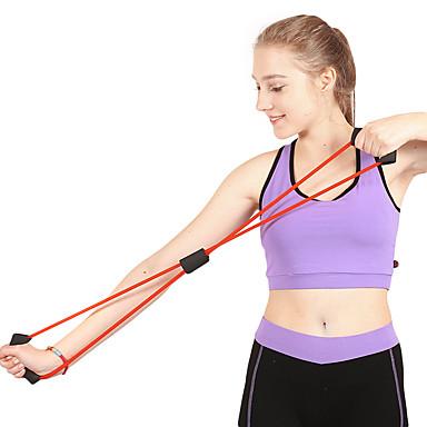 حزام مقاومة / أنبوب التمرين الرياضي مع مطاط تدريب القوة, سحب علاج بدني, تدريبات المقاومة إلى عن على يوغا / Fitness / الجمنازيوم