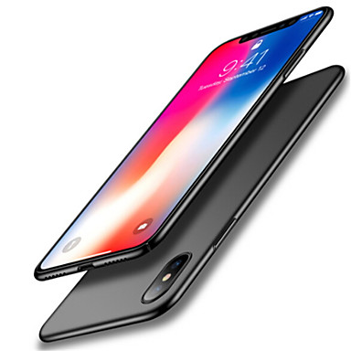 מגן עבור Apple iPhone X עמיד בזעזועים אולטרה דק צבע אחיד רך ל
