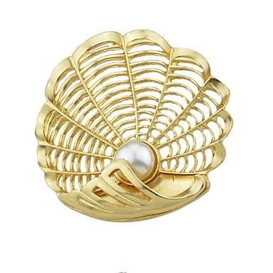 בגדי ריקוד נשים תפס לשיער - ציפוי פשוט, בסיסי סִכָּה זהב עבור יומי / שנה חדשה