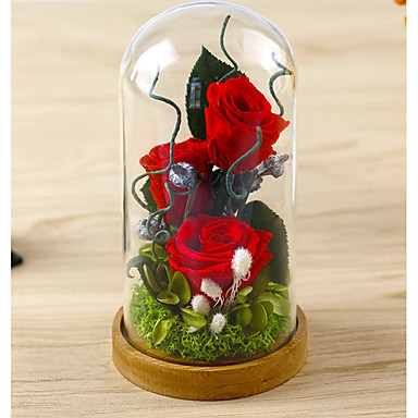 חתונה / מזל טוב מצדדים ומתנות מפלגה - מתנות / קישוטים עלי כותרת / פרחוני / פרח פרחים מיובשים / ניצן של פרח נושאי גן / חופשה / רומנטיקה