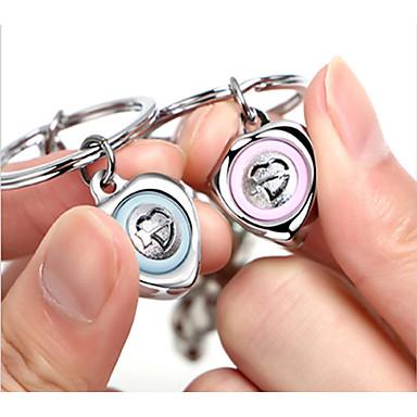 רומנטיקה מצדדים במחזיק מפתחות סגסוגת אבץ מחזיקי מפתחות - 2 pcs כל העונות