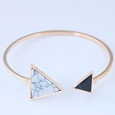 Γυναικεία Γεωμετρική Χειροπέδες Βραχιόλια - Ρητίνη κυρίες 996f1146645