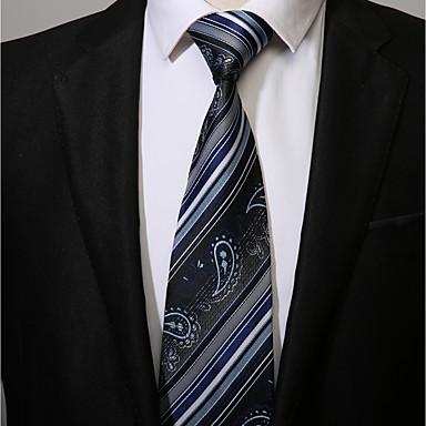 עניבת צווארון - פסים עבודה יום יומי בגדי ריקוד גברים