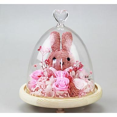 Christmas Gifts יום הולדת מצדדים ומתנות מפלגה - מתנות קישוטים עלי כותרת פרטים מקריסטל פרחוני פרח פרחים מיובשים נושאי גן נושא פרחוני נושא