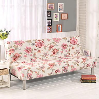 עכשווי 100% פוליאסטר ג'אקארד כיסוי ספה דו מושבית, פשוט פרחוני הדפס כיסויים