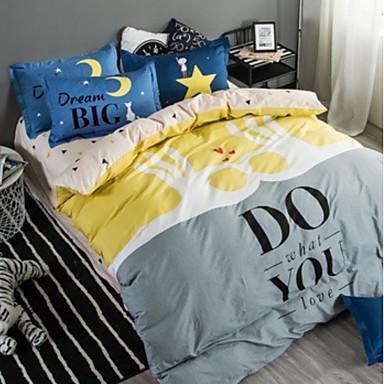 ensembles housse de couette bande dessin e 3 pi ces. Black Bedroom Furniture Sets. Home Design Ideas