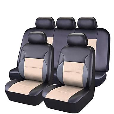 رخيصةأون اكسسوارات السيارات الداخلية-أغطية مقاعد السيارات أغطية المقاعد أسود-أحمر / زهري / أسود / أزرق PVC الأعمال التجارية / عادي من أجل عالمي كل السنوات