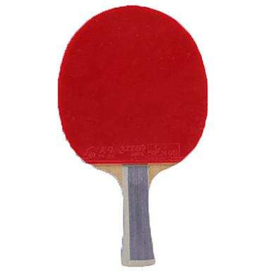 DHS® TG TB2 Ping Pang / מחבטי טניס שולחן עץ / גוּמִי ידית ארוכה / פצעונים ידית ארוכה / פצעונים
