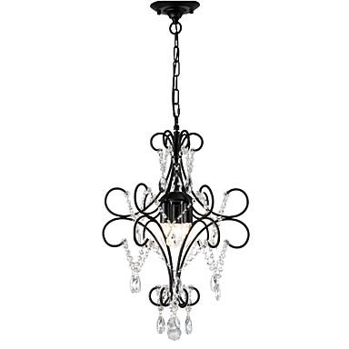LightMyself™ 3 światła Żyrandol Światło rozproszone Malowane wykończenia Metal 110-120V / 220-240V Nie zawiera żarówek / E12 / E14