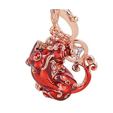חתונה / חברים / יומהולדת מצדדים במחזיק מפתחות סגסוגת אבץ מזכרות מחזיקי מפתחות - 1 pcs כל העונות