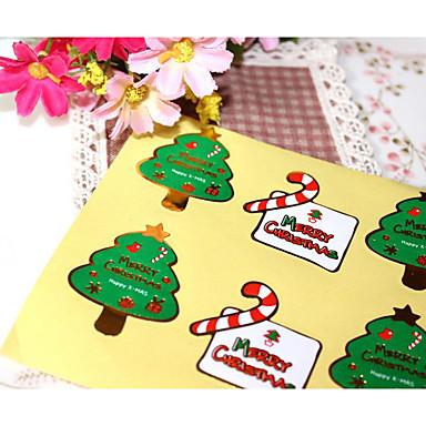 Święta / Święto Naklejki, etykiety i tagi - 8 pcs Nieregularny Naklejki Na każdy sezon