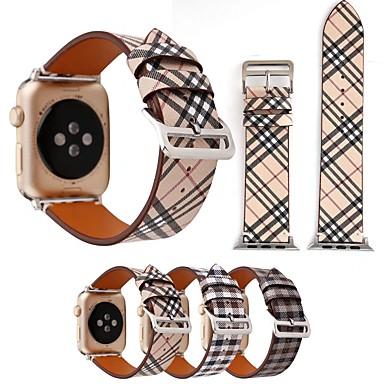 Watch Band için Apple Watch Serisi 5/4/3/2/1 Apple Deri Döngü Gerçek Deri Bilek Askısı
