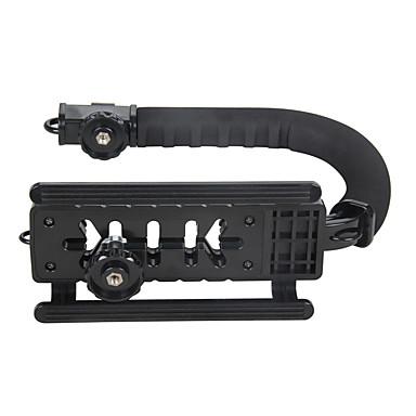 yelangu c forme flash braketten holder video håndholdt stabilisator grep for dslr slr kamera mini dv