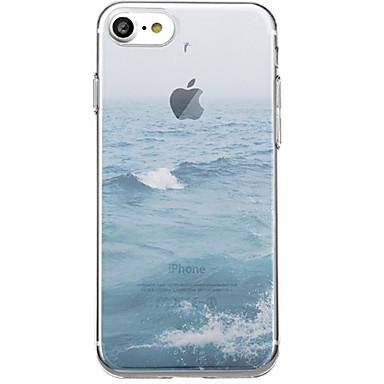 fodral Till Apple iPhone X   iPhone 7 Plus Mönster Skal Landskap Mjukt TPU för  iPhone 51580d046d3c2