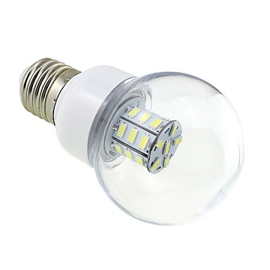 4W 3000-3500 lm E26/E27 LED Kugelbirnen G60 27 Leds SMD 5730 Warmes Weiß DC 24V AC 24 V Wechselstrom 12V DC 12V