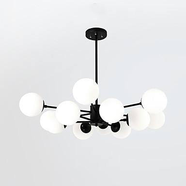 LightMyself™ Żyrandol / Lampy widzące Światło rozproszone Malowane wykończenia Metal Szkło Matowy 110-120V / 220-240V Nie zawiera żarówek / E26 / E27