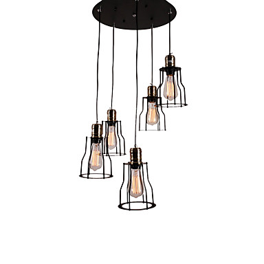 OYLYW 5-Light Cluster Pendant Light Ambient Light - Mini Style, 110-120V / 220-240V Bulb Not Included / 10-15㎡ / E26 / E27