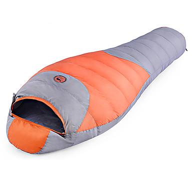 Shamocamel® Sovepose Mumiesovepose Dyk Ned -10 ~ -5°C Hold Varm Vandtæt Ultra Lys (UL) Komprimering 220*80 Vandring Camping Udendørs