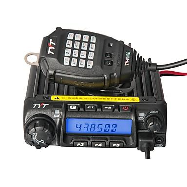 billige Walkie-talkies-tyt th-9000d kjøretøymontert nødalarm 3 km-5 km 45w walkie talkie toveis radio intercom mobil radio 200ch dual display repeater scrambler transceiver car truck
