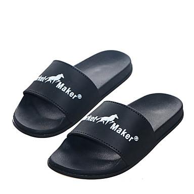 Pantofle męskie Pantofle Zwyczajny PU Jeden kolor