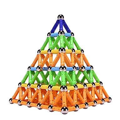 povoljno Igraći blokovi-Magnetski blok Magnetski štapići Magnetske pločice 50/100/150 pcs Arhitektura Interakcija roditelja i djece Dječaci Djevojčice Igračke za kućne ljubimce Poklon / Kocke za slaganje