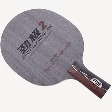 DHS® POWER.G2 CS Ping Pang/מחבטי טניס שולחן לביש מונע החלקה עץ 1