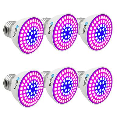 BRELONG® 6 szt. 6 W 300 lm E14 / GU10 / MR16 Żarówka Frow 72 Koraliki LED SMD 2835 Niebieski 220-240 V