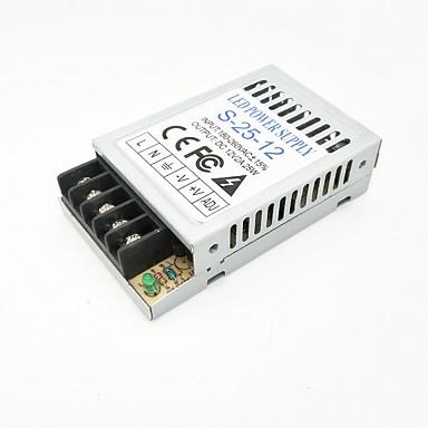 ZDM® 1 szt. 180-260   12 V Akcesoria do taśm świetlnych / Adapter Aluminium Zasilanie Srebrny