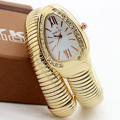 4296a988255 Mulheres Casal Relógio Casual Relógio de Moda Único Criativo relógio  Quartzo Prata   Dourada   Ouro Rose Relógio Casual Analógico senhoras Luxo  Casual ...