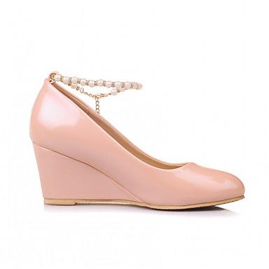 rond Confort Bout Femme Similicuir 06600609 Imitation Chaussures semelle Automne Hauteur compensée Talons Nouveauté à de Chaussures Printemps O6OFqwIf