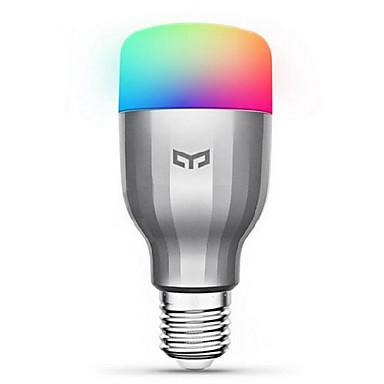 xiaomi yeelight 220v e27 smart led bulb16 million farger wifi aktivert arbeid med amazon alexa / google home