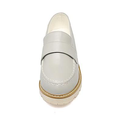 et Gris Amande Rouge Bas Talon Printemps D6148 Chaussons Similicuir Chaussures Confort 06590658 Bout rond Femme Mocassins Automne OxFqYpRCCw