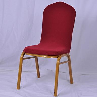 עכשווי 100% פוליאסטר ג'אקארד כיסוי לכיסא, פשוט אחיד הדפסת פיגמנטים כיסויים