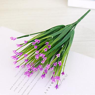 Sztuczne Kwiaty 1 Gałąź Styl pasterski Rośliny Bukiety na stół