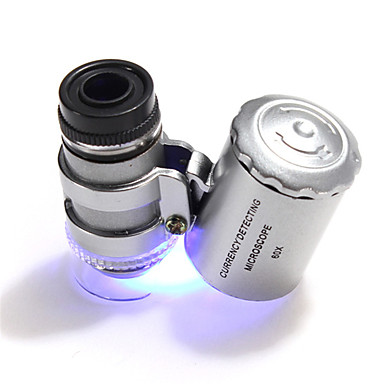 billige Kikkerter og teleskop-60 X 10 mm Mikroskop Bærbar Camping & Fjellvandring Dagligdags Brug Plastikker Metall