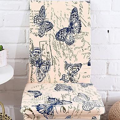 billige Overtrekk-Moderne 100% Polyester Mønstret Stoltrekk, Enkel Blomstret Dyremønster Trykket slipcovere
