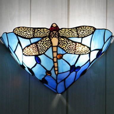 Antyrefleksyjny Antyczny / Vintage Oświetlenie łazienkowe Szkło Światło ścienne 220-240V 20 W / E27