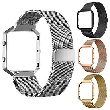 Watch Band için Fitbit Blaze Fitbit Milan Döngüsü Paslanmaz Çelik Bilek Askısı