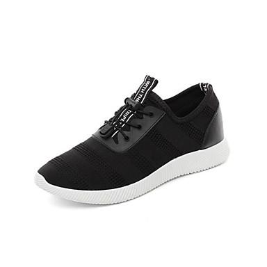 Męskie Komfortowe buty Syntetyczny Wiosna / Jesień Adidasy Czarny / Na zewnątrz