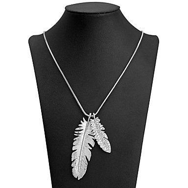 Pendant Necklace Leaf Sweet Fashion White 89 cm Necklace Jewelry For Daily  Evening Party ded7778dd3f