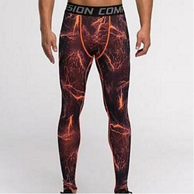 a36024d9c63f2 Men's Compression Pants Running Tights Blue Black / Red Sports Camo /  Camouflage Spandex Pants / Trousers Compression Clothing Tights Fitness Gym  Workout ...