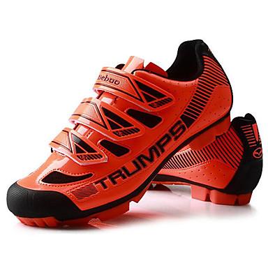 Tiebao® Buty na rower górski Włókno węglowe Antypoślizgowy, Zdatny do noszenia, Oddychalność Kolarstwo Czarny / Żółty / Czarny / pomarańczowy Męskie / Oddychająca siateczka / Haczyk