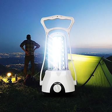 billige Lommelykter & campinglykter-Lanterner & Telt Lamper LED LED 42 emittere 1 lys tilstand Justerbar Holdbar Camping / Vandring / Grotte Udforskning Dagligdags Brug Fisking Hvit