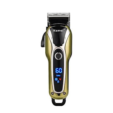 저렴한 면도 & 제모 제품-Kemei 헤어 트리머 용 남성 및 여성 100-240 V 낮은 소음 / 가볍고 편리함