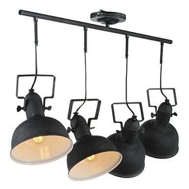 4-Light Spotlys Omgivelseslys - Mini Stil, 110-120V / 220-240V Pære ikke Inkludert / 15-20㎡ / E26 / E27