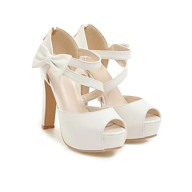 ouvert Rose 06648625 Bout Femme Noir Amande Basique Eté Aiguille Polyuréthane Noeud Printemps Chaussures Sandales Escarpin Talon wAwOBvq