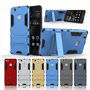 Etui Käyttötarkoitus Huawei P9 / Huawei P9 Lite / Huawei Nauti 5S P9 Lite / P9 / P8 Lite Iskunkestävä / Tuella Takakuori Panssari Kova PC varten Huawei P9 Lite / Huawei P9 / Huawei P8 Lite